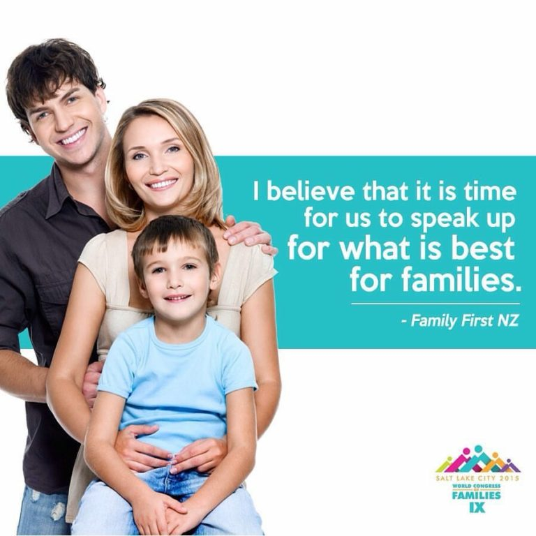 Family First at the World Congress of Families