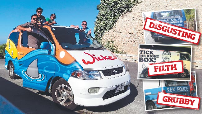Campaign Launched to Clean Up Wicked Campers