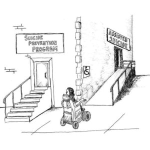 EUTHANASIA suicide prevention assisted suicide cartoon