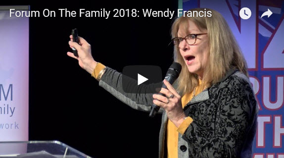 Forum On The Family 2018: Wendy Francis