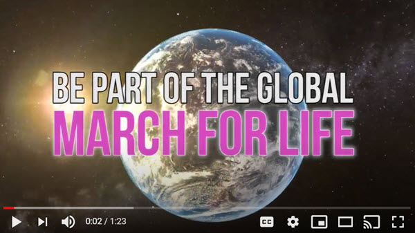 March For Life – Wellington – 5 December 2020