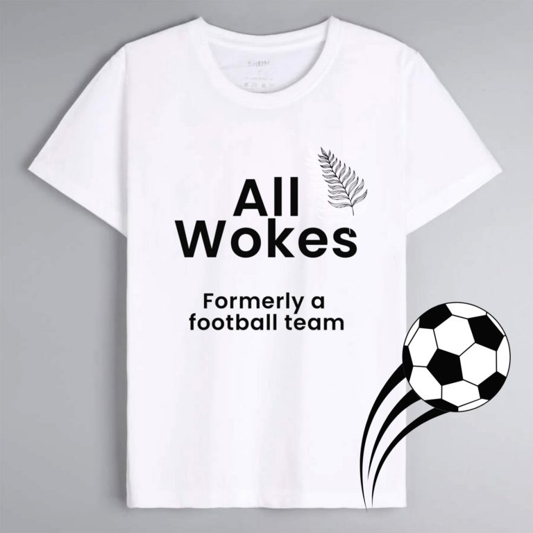 All Whites want to be All Wokes